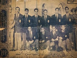 ماجراهای تیم ملی فوتبال در 93 سال قبل