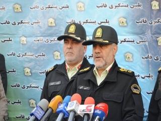 تاکید رئیس پلیس پایتخت بر کاهش ساعت اتمام طرح کاهش آلودگی هوا در نیمه دوم سال
