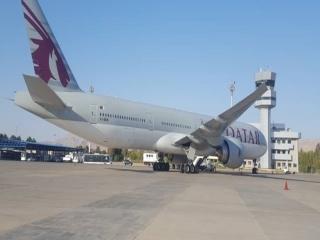 فرود اضطراری 2 فروند هواپیمای قطر ایرویز در شیراز