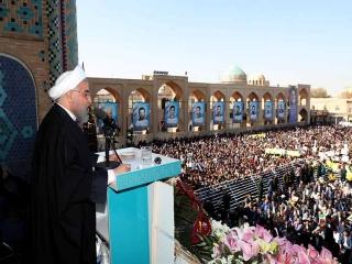 سخنرانی رئیس جمهور در جمع مردم یزد درباره مبارزه با فساد