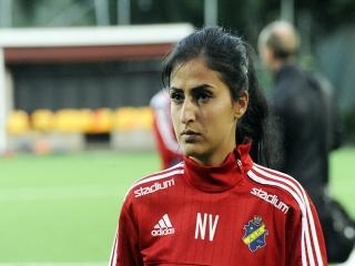 یک دختر ایرانی به عنوان برترین فوتسالیست سوئد انتخاب شد