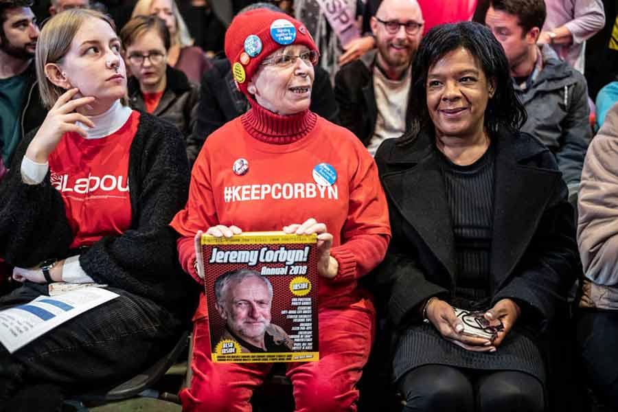 کارزار انتخاباتی حزب کارگر بریتانیا در شهر لیورپول