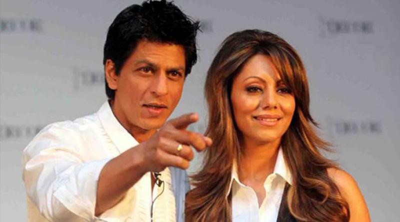 شاهرخ خان و همسرش