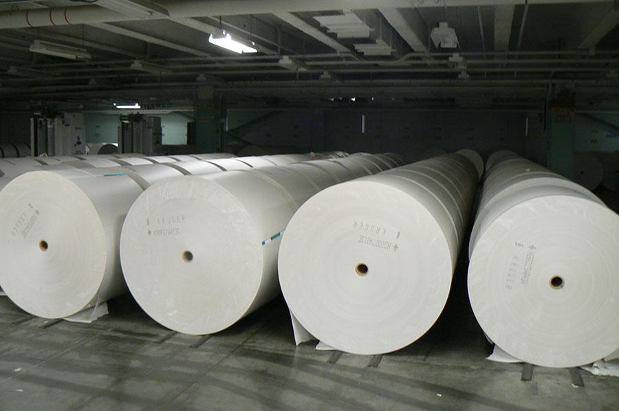 رسوب هزاران تن کاغذ در گمرک - Depositing thousands of tons of paper in customs