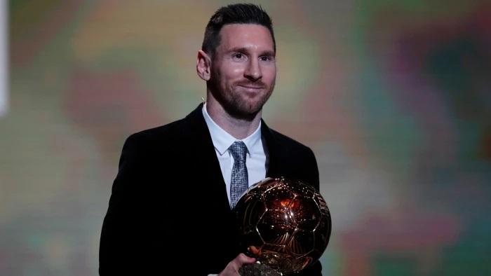 مسی برنده توپ طلا شد - Messi won Ballon d'Or