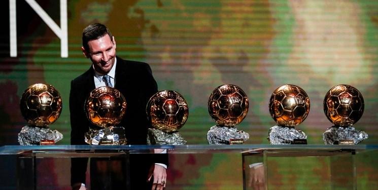 رنکینگ 10 بازیکن دارنده بیشترین توپ طلا - Ranking 10 players with the most Ballon d'Or