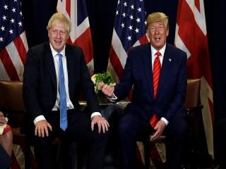 درخواست بوریس جانسون از ترامپ برای تنشزدایی با ایران