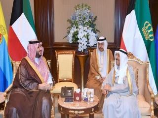 پیام شفاهی پادشاه عربستان به امیر کویت در پی ملتهب شدن منطقه