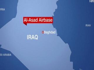 پایگاه عین الاسد آمریکا در عراق موشک باران شد