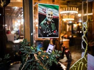 پیکر سردار شهید سلیمانی وارد فرودگاه مشهد شد