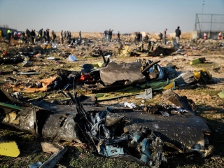 سقوط هواپیمای اوکراینی در نزدیکی فرودگاه امام خمینی