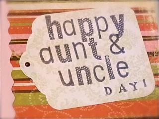 26 جولای ، روز خاله و عمه و عمو و دایی