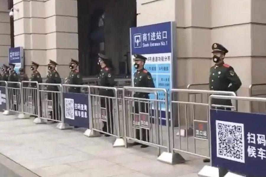 چین 18 شهر را قرنطینه کرد - China quarantined 18 cities