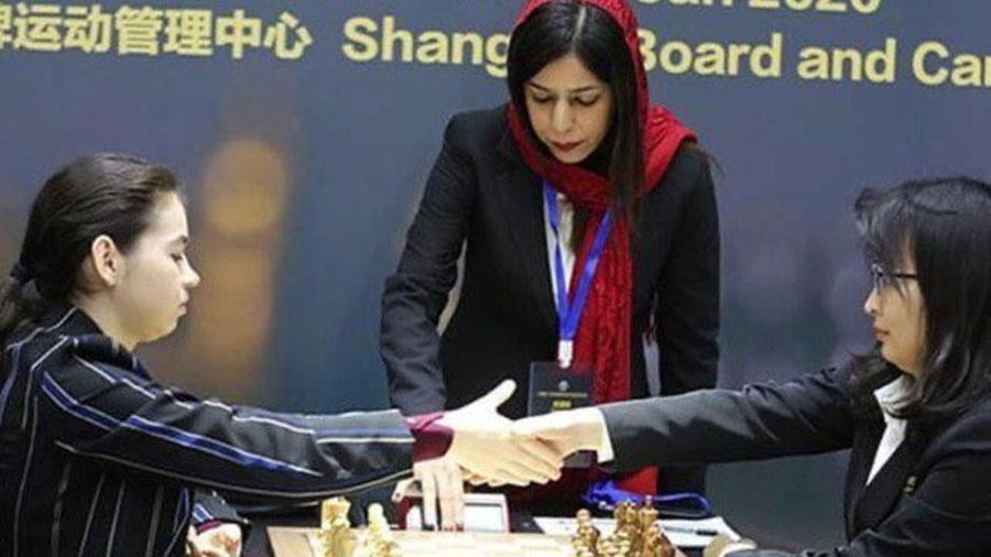 شهره بیات داور بین المللی شطرنج هم مهاجرت کرد - Shohreh Bayat also emigrated