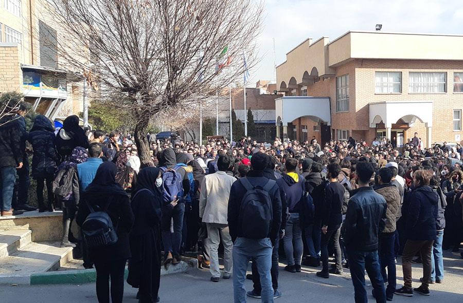 تجمع امروز دانشجویان در دانشگاههای کشور - Today's gathering of students at universities in the country