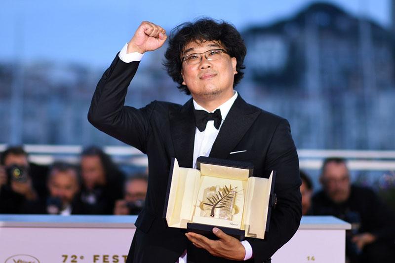 کارگردان بونگ جون هو در جشنواره کن 2019