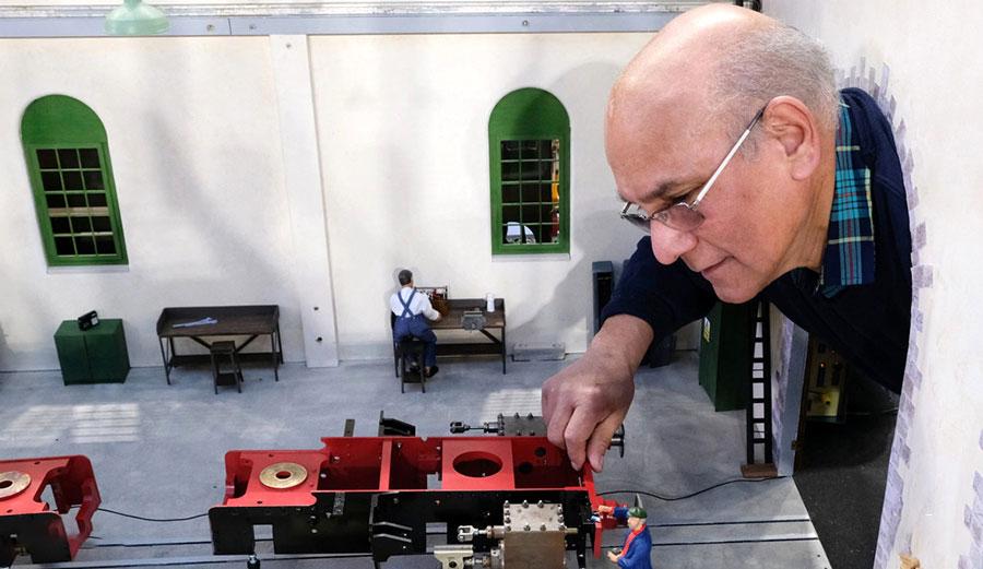 نمایشگاه مهندسی مدل لندن در کاخ الکساندرا