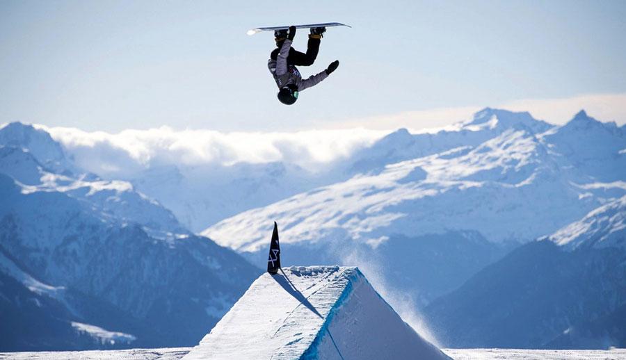 مسابقات اسنوبرد در لااکس سوئیس