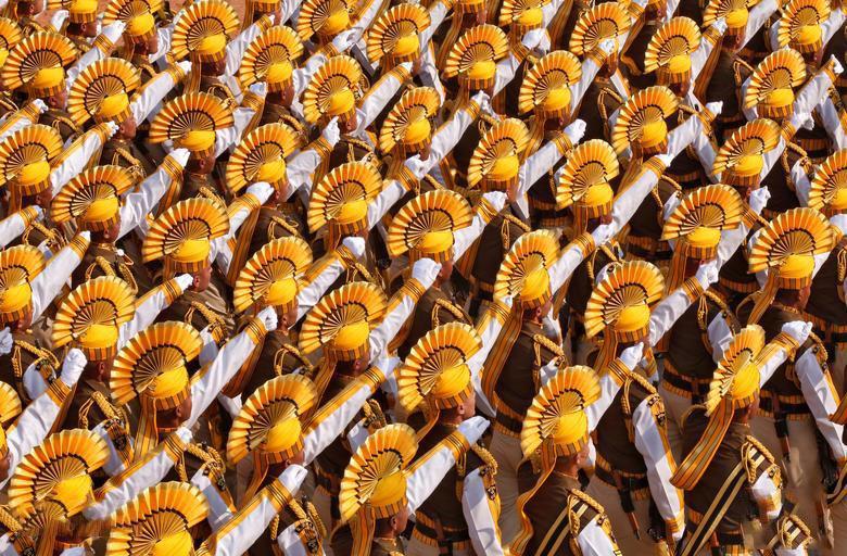 رژه روز ملی هند در دهلی نو