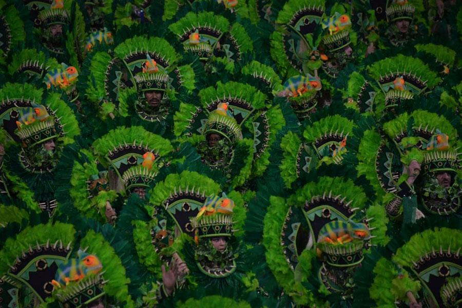 کارناوالی در ریودوژانیرو برزیل