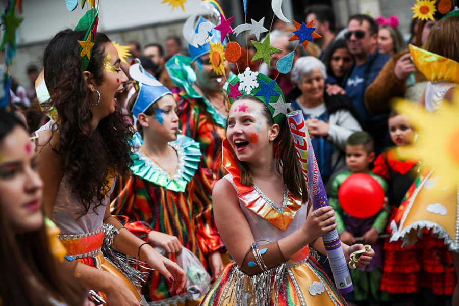 کارناوال سالانه شهر لورِس پرتغال
