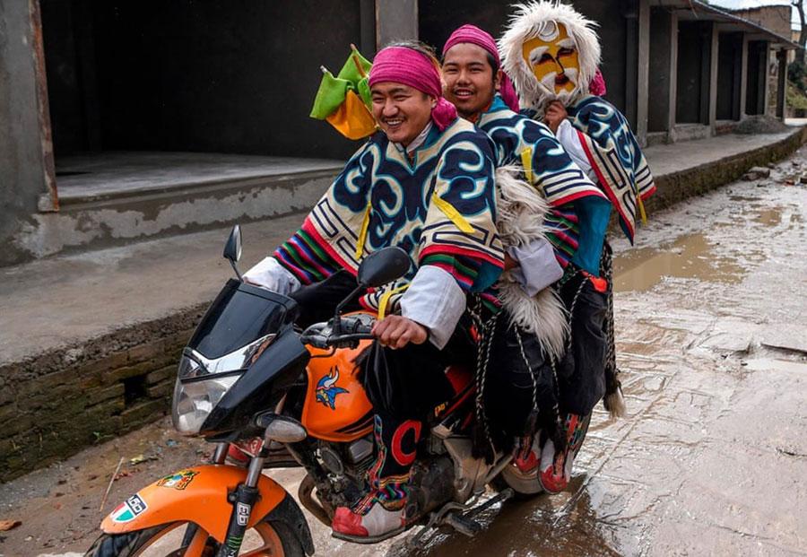 جشن سال نو تبتیهای نپال