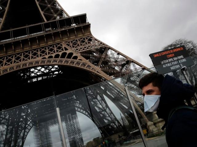 اعلام قرنطینه 15 روزه در فرانسه در پی شیوع کرونا