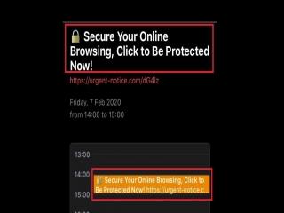 حذف پیام های آزاردهنده تقویم آیفون