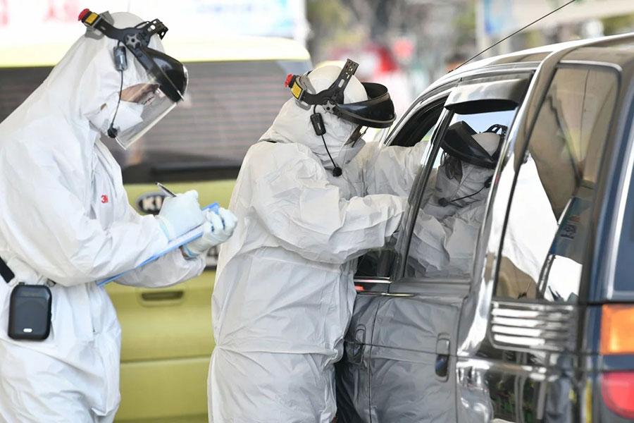 ابتلای 7382 نفر به کرونا در کره جنوبی - 7382 people infected with corona in South Korea