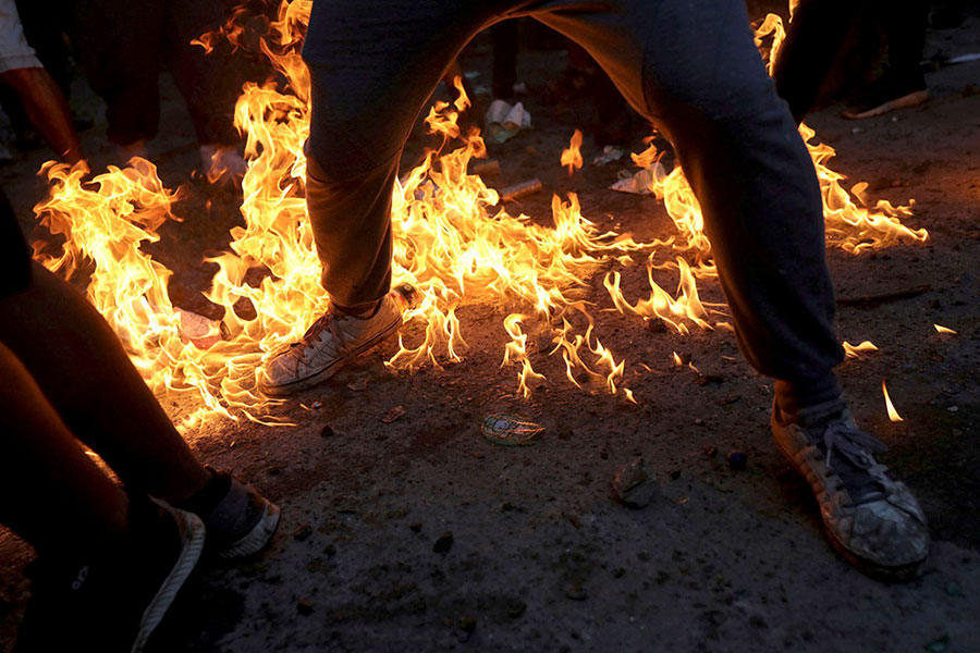 ادامه اعتراضات در شیلی