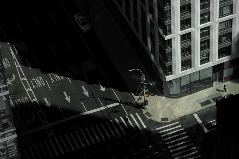 خلوتی کمنظیر محله منهتن در مرکز نیویورک
