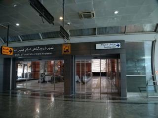 مسافران فرودگاه امام 97 درصد کاهش یافت