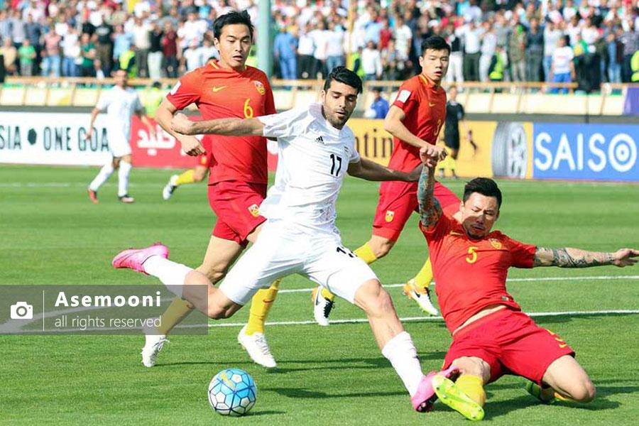 ایران در مقابل چین