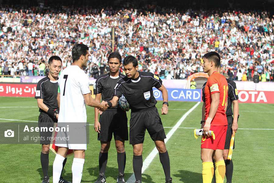 بازی ایران مقابل چین