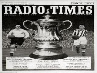 تاثیر یک روزنامه در اولین پخش زنده تاریخ فوتبال