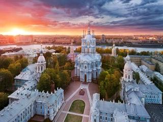 شب های سفید سن پترزبورگ روسیه + عکس