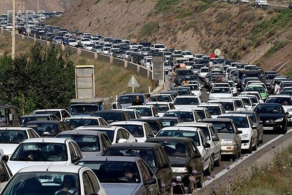 ترافیک در تعطیلات عید فطر