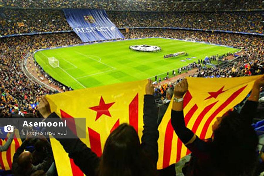 بازیهای بارسلونا و تیم همشهری شان اسپانیول