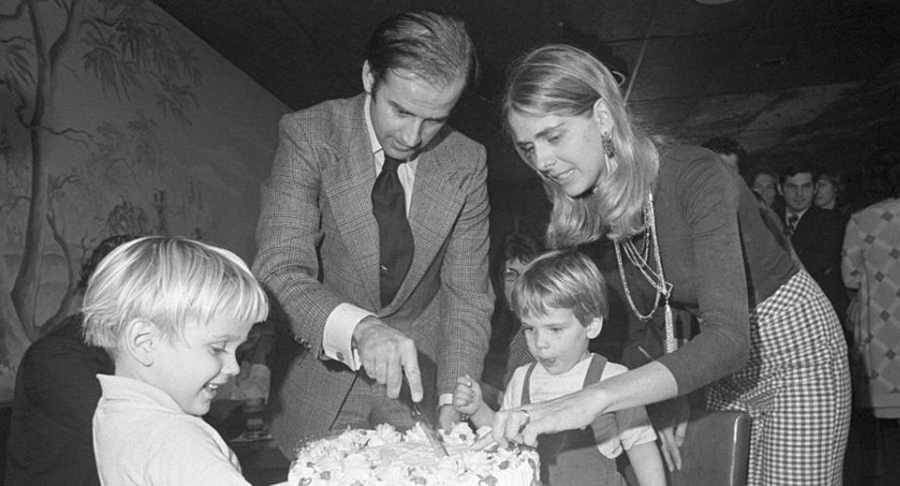 جو بایدن و همسر اولش نیلیا هانتر
