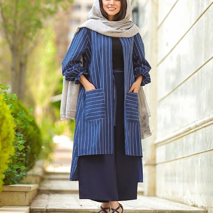 استایل ست مانتو با دامن-manto set style with skirt