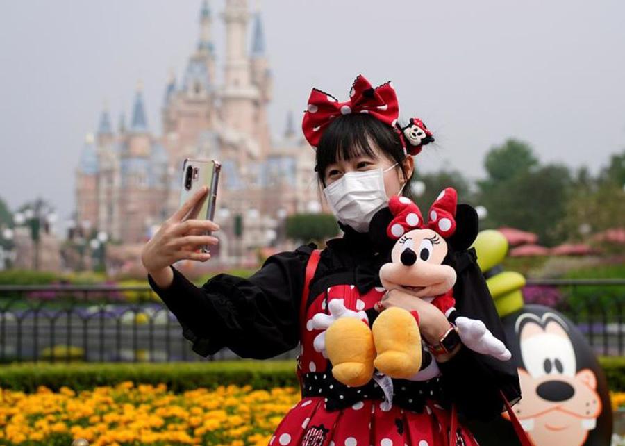 بازگشایی دیزنیلند شهر شانگهای چین