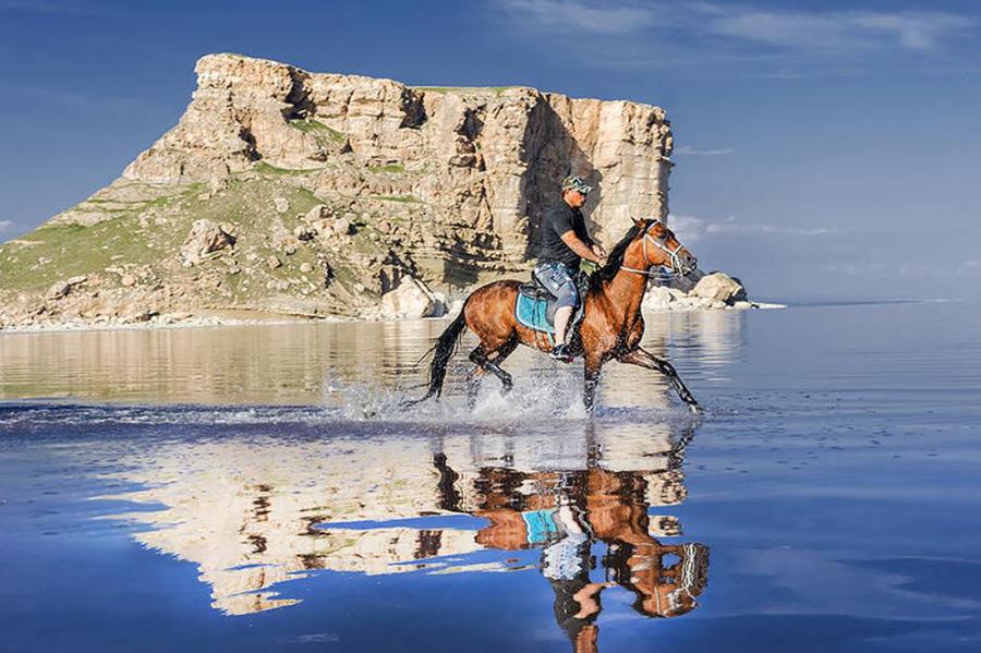زیبایی زندگی دوباره دریاچه ارومیه