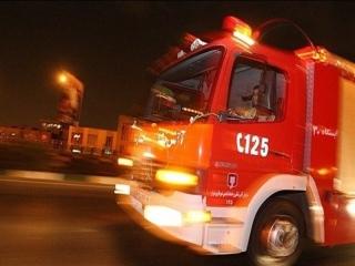 آتشسوزی در کلینیک درمانی در خیابان شریعتی تهران