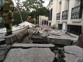 انفجار منزل ویلایی در شهرک غرب