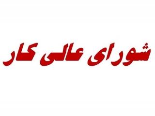 جلسه شورای عالی کار به شنبه 17 خرداد موکول شد