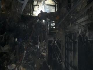 دلیل انفجار مرکز درمانی سینا اطهر میدان تجریش تهران