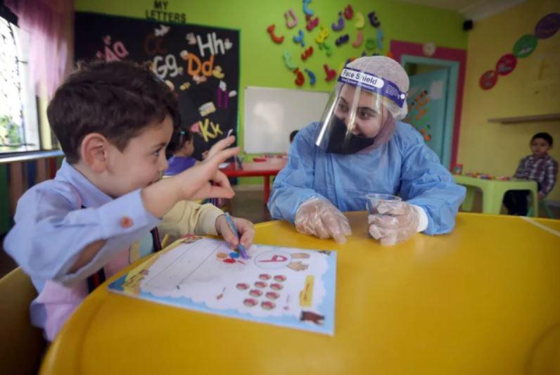 آغاز دوباره فعالیت مهدهای کودک در شهر امان (پایتخت) اردن
