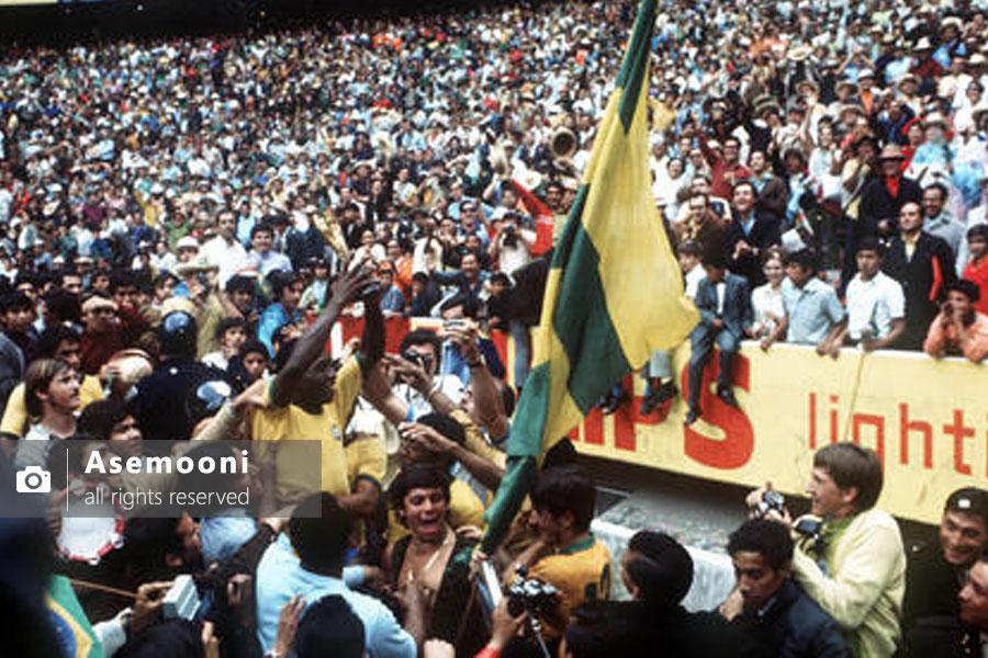 برزیل در جام 1970