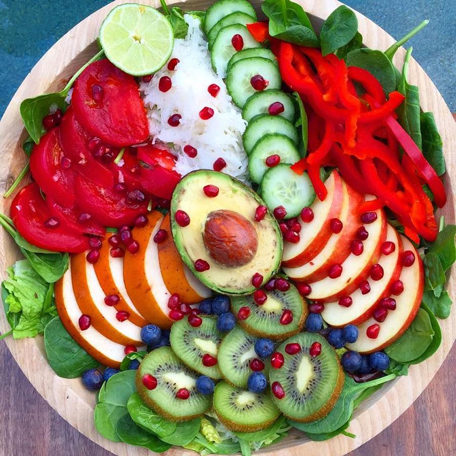 جشن خام خواری - Raw veganism celebration