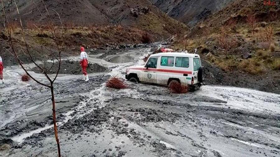 سیل در مازندران-flood in mazandaran